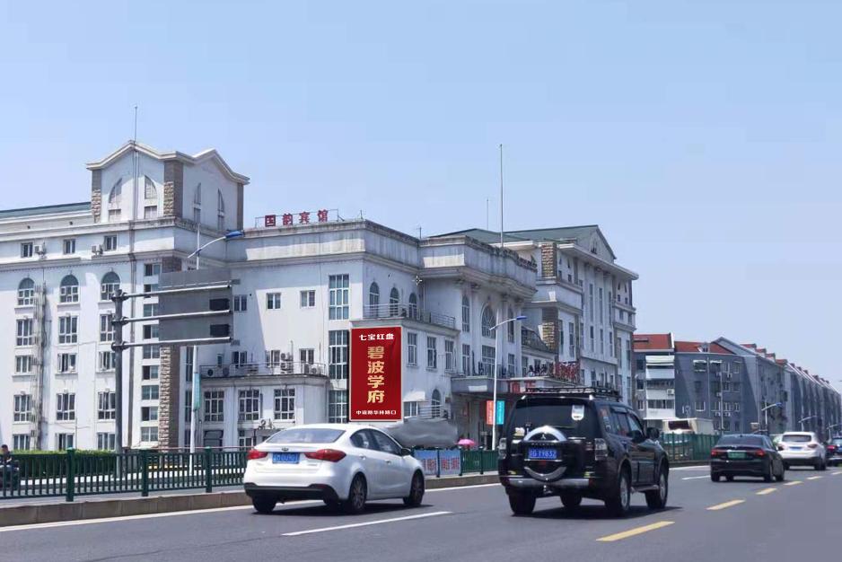 上海闵行七宝商圈媒体户外拉菲7广告大牌
