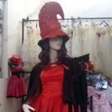 万圣节红色侠女服装