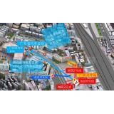 户外广告-广州火车站双地铁交汇人行隧道广告牌