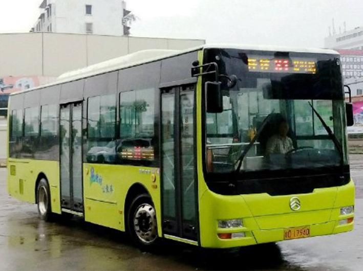 汕头公交车身广告