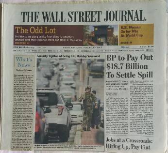 华尔街日报网络版软文专题发稿