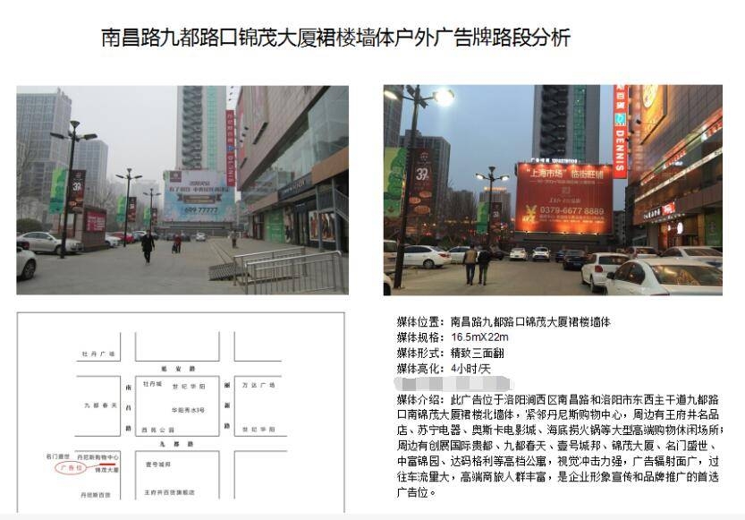 洛阳购物中心广告大牌