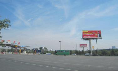 洛阳开元大道关林收费站广告塔