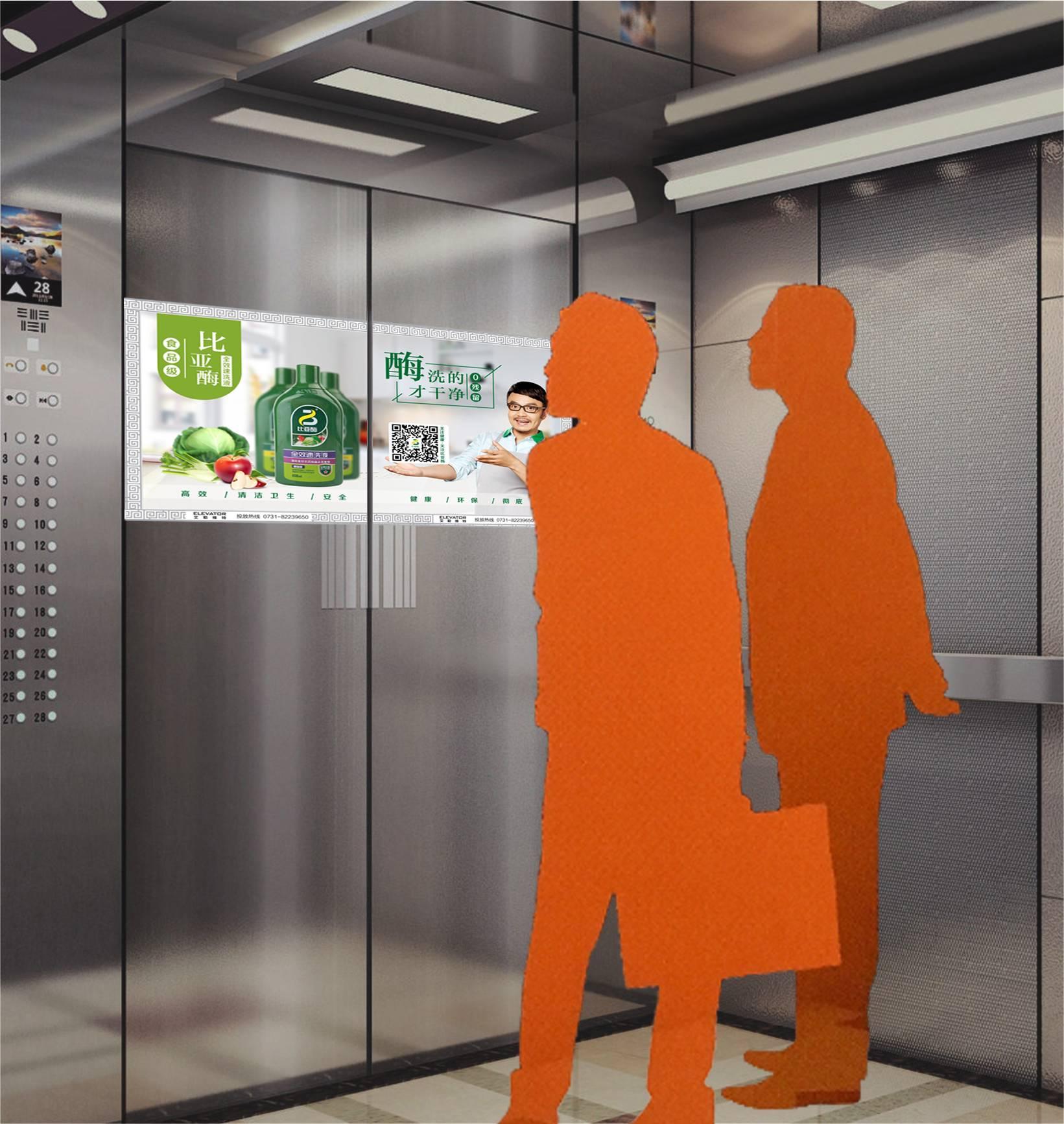 南宁电梯门广告(100块起投)
