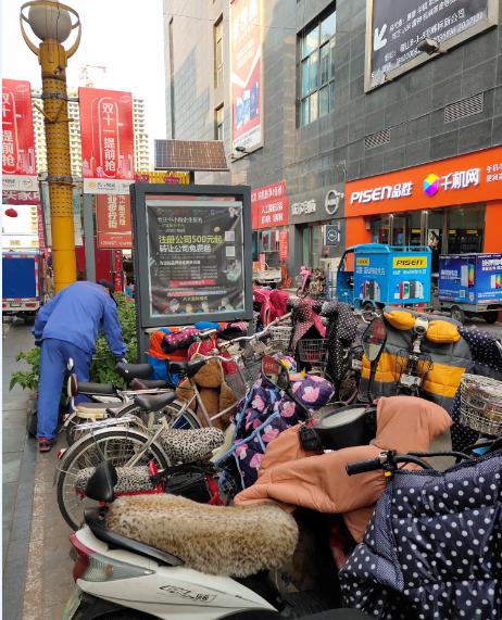 河北邯郸保洁箱广告