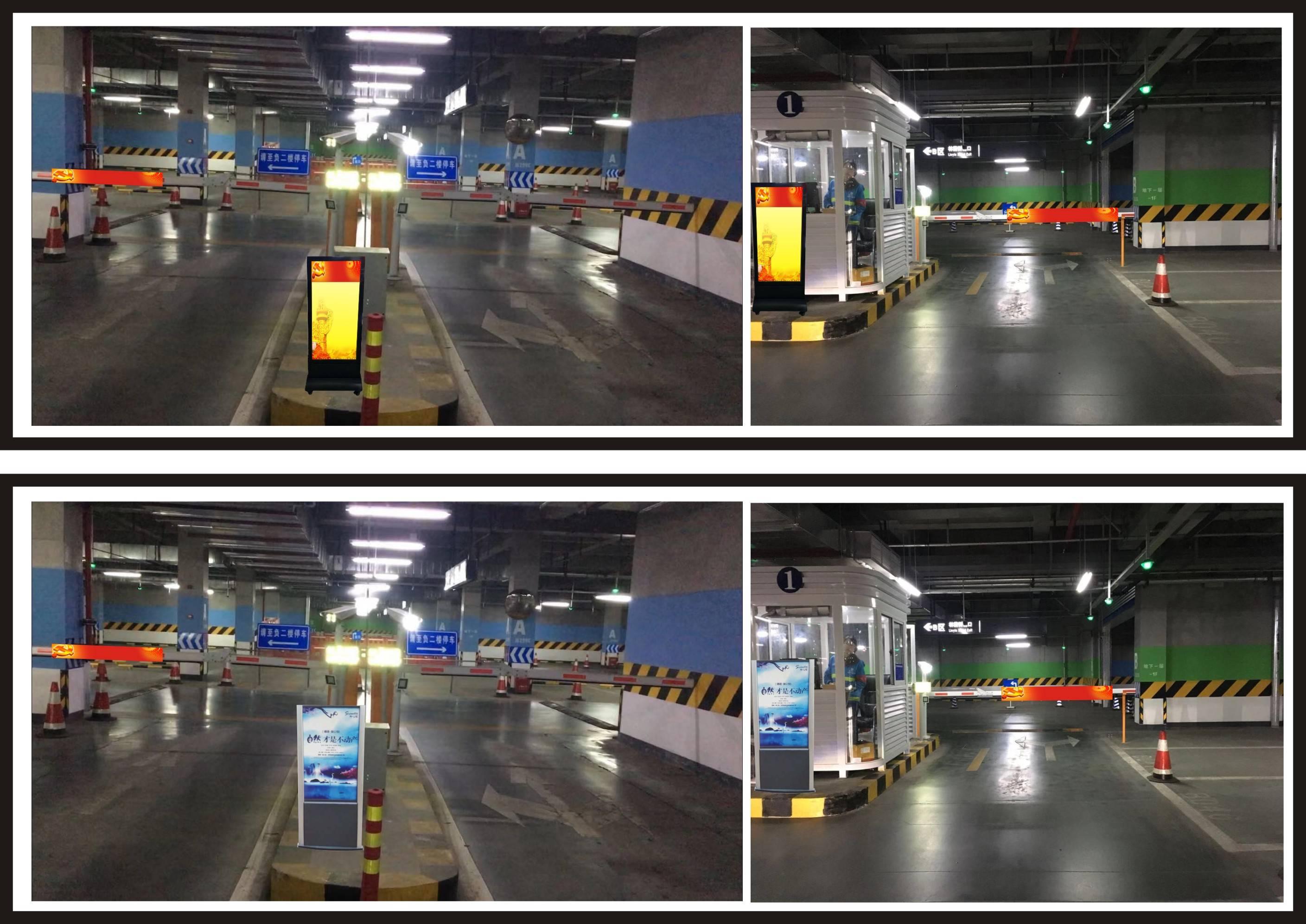 成都东站高铁站/客运站超大型地下停车场道闸广告招租(投放:月)