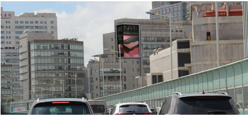 上海静安区户外大牌广告(5号位)