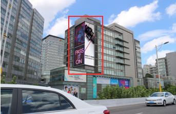 上海静安区户外大牌广告(1号位)