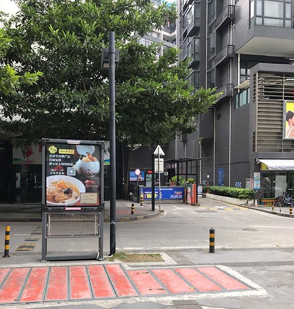 灯箱广告-广州社区广告牌3.0(尺寸:96厘米宽*115厘米高  1座/面/月)
