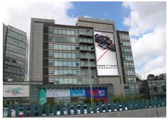 上海静安区户外大牌广告(2号位)