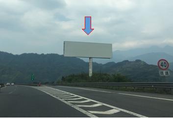 雅西高速单立柱广告 方向右侧(龙长沟