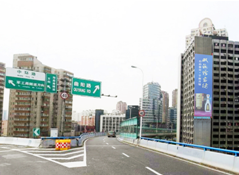 上海户外大牌广告(中环高架  中山北一路1250号 3号楼北侧墙面广告位)