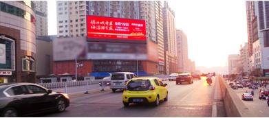 五一广场锦绣中环LED屏