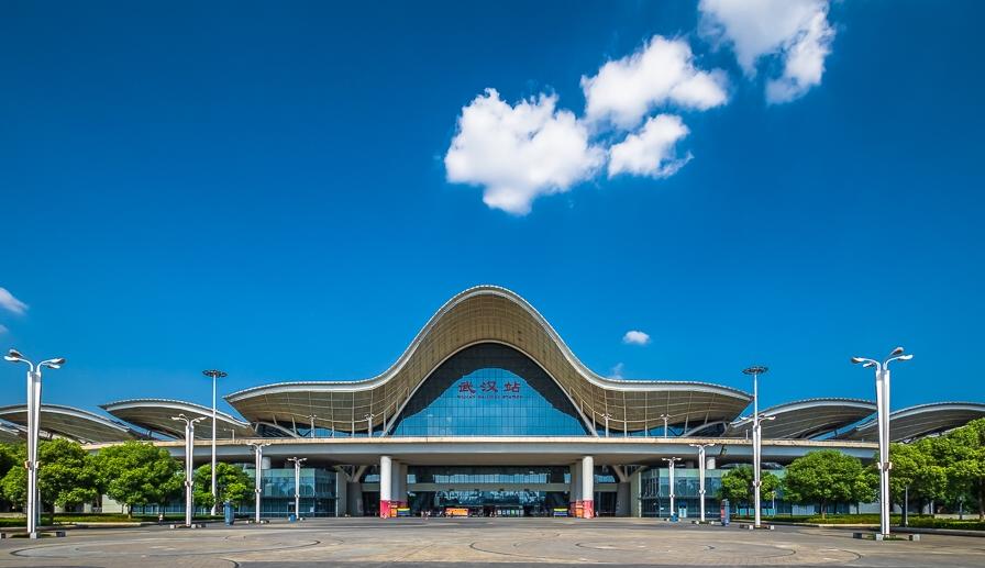 湖北高铁武汉站LED大屏东西进站安检口(2块)