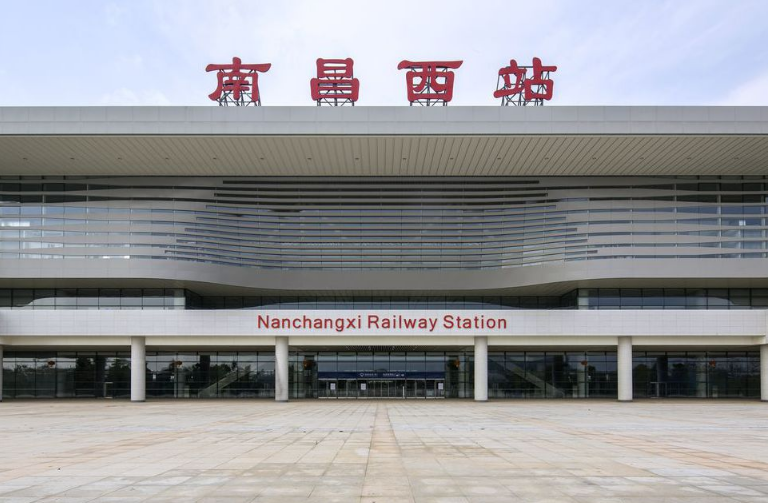江西高铁南昌西站LED大屏北进站大厅 (1块)
