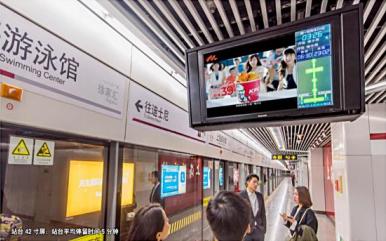 上海移动电视(地铁电视广告)(时间:一周)