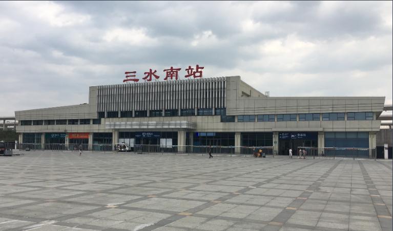 广东高铁佛山-三水南站LED大屏候车大厅闸机口(1块)