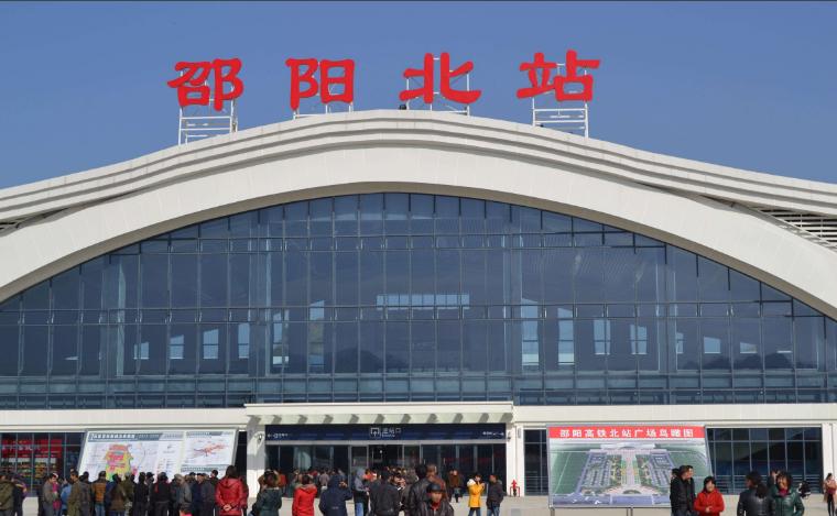 湖南高铁邵阳北站LED大屏进站安检口中央(1块)