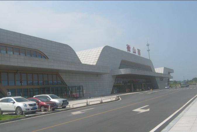 湖南高铁衡山西站(5A级景区)LED大屏进站安检口(1块)