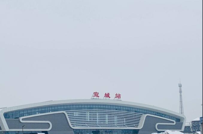 安徽高铁宣城站LED大屏二楼候车大厅检票闸机口(1块)