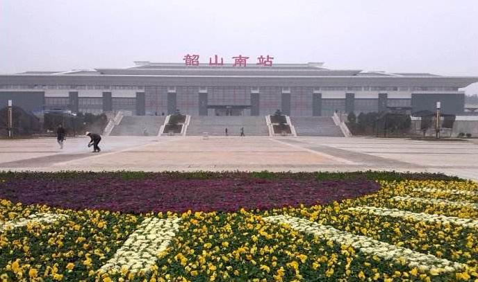 湖南高铁韶山南站LED大屏候车大厅闸机口(1块)