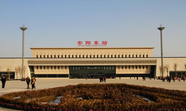 河南高铁安阳东站LED大屏候车厅进站安检口上方(1块)
