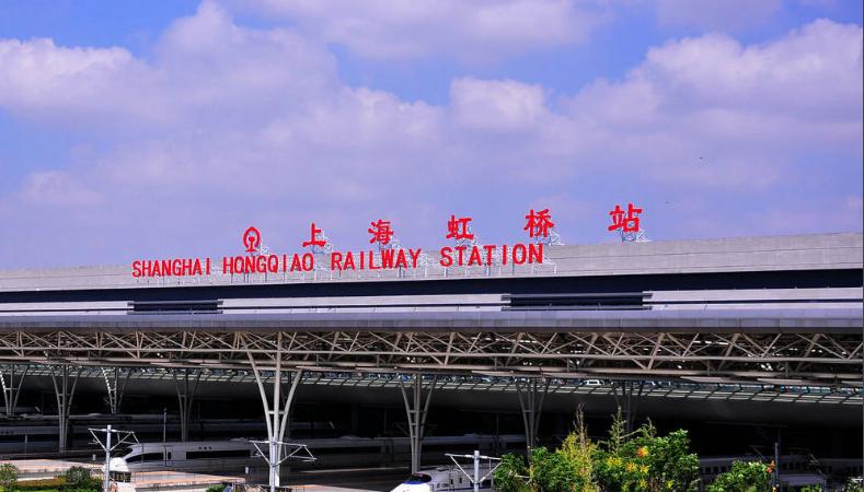 上海高铁虹桥站LED大屏候车大厅(4块)