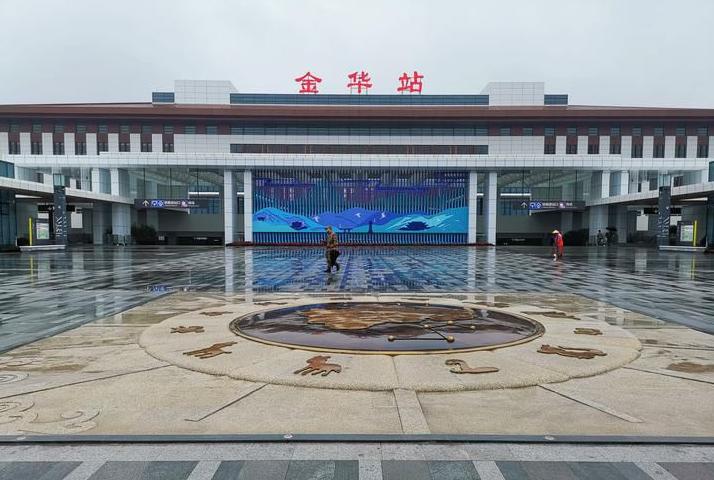 浙江高铁金华站LED大屏候车大厅(2块)