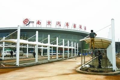 南京长途客运南站售票窗口LED屏(5秒  60次/天  一周)
