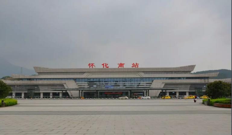 湖南高铁怀化南站LED大屏进站安检口(1块)
