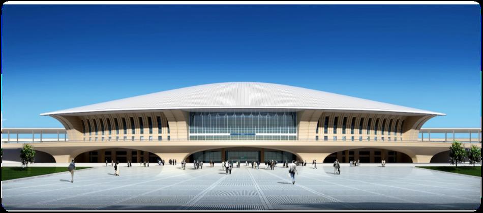 乌鲁木齐新客站高铁站候车厅84吋/98吋LED显示屏广告(44面)
