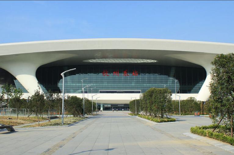 浙江高铁杭州东站LED大屏候车大厅(B侧)(2块)