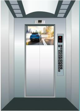 陕西省渭南市电梯框架