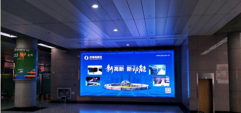 青岛机场T1出发层墙面灯箱广告(一个月)DA-Q13-T1