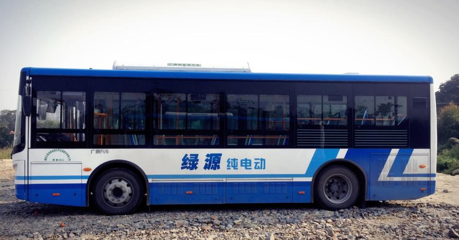 揭阳绿源公交车车身广告位招商投放