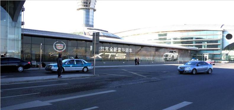 青岛机场T1出发层3M通透贴广告(一个月)LL-TM