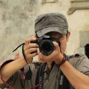 旅行摄影背包客