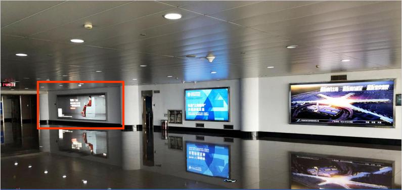青岛机场T1出发层墙面灯箱广告(一个月)JC-Q18-T1