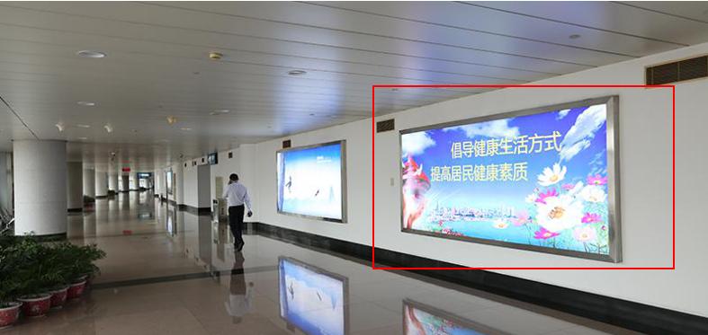 青岛机场T1出发层灯箱广告(一个月)JC-Q9-T1