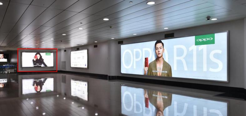 青岛机场T1出发层墙面灯箱广告(一个月)JC-Q39-T1