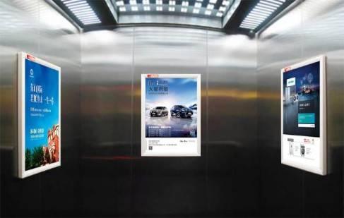 成都电梯框架海报(最短投放2周,100面起投,价格为单面单周价格)