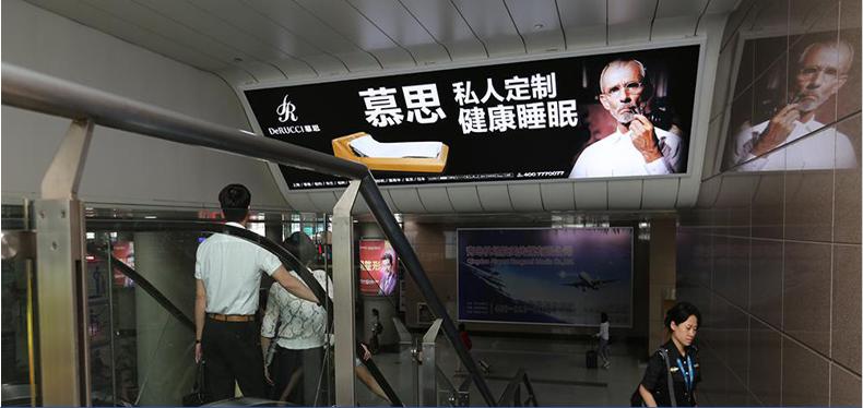 青岛机场T1出发层墙面灯箱广告(一个月)JC-TH1-T1至 JC-TH2-T1