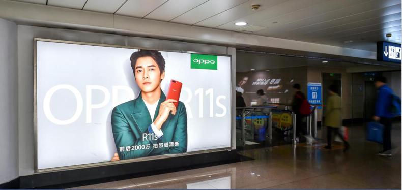 青岛机场T1出发层墙面灯箱广告(一个月)JC-Q19-T1