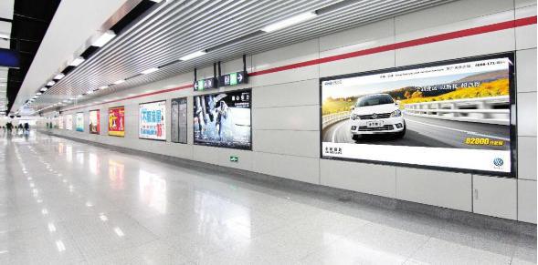 杭州S+级站点12封大灯箱广告(4周)