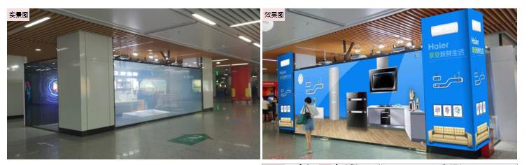 无锡地铁三阳广场站大东方通道 区域-N1广告(4周)