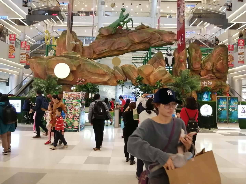 上海商场中庭广告位(投放时间:一个月)