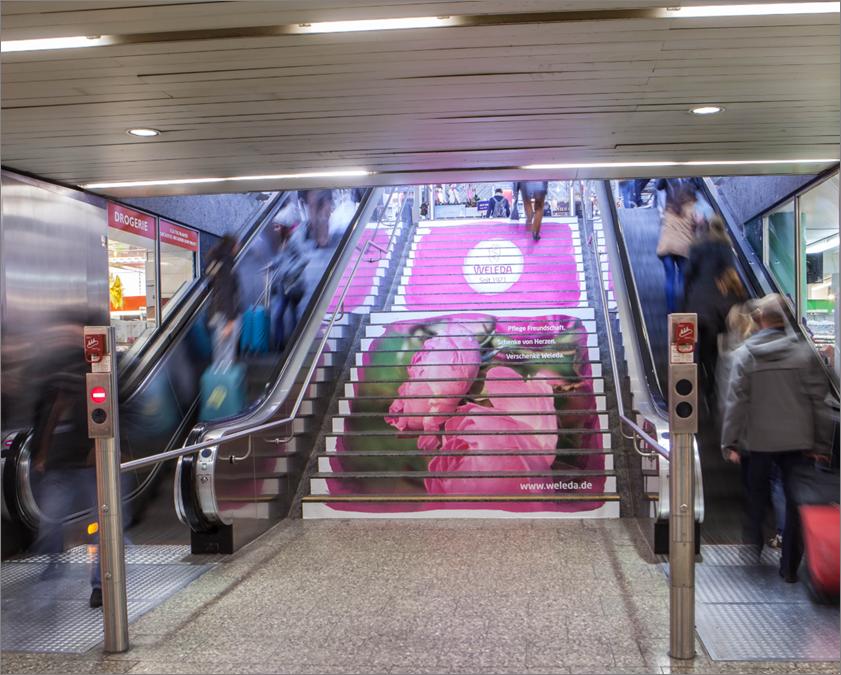 慕尼黑市中心火车站(投放时长是:一个月/一块)