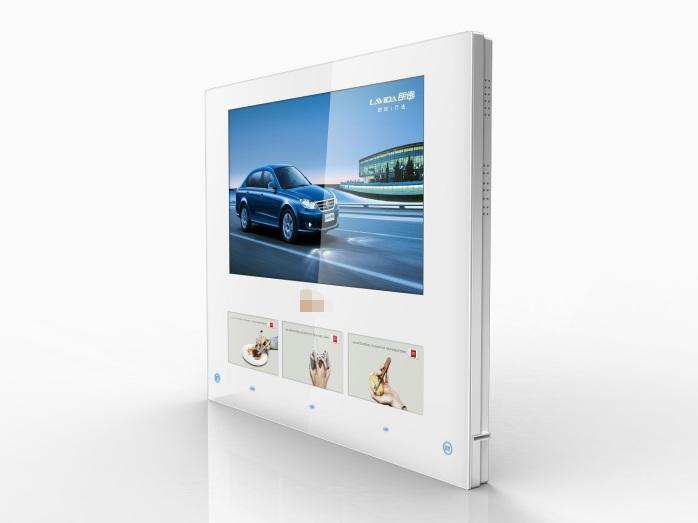 威海电梯电视广告公司广告电视框架4.0投放