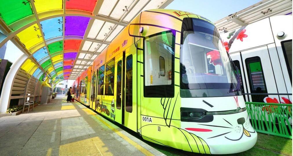 广州有轨电车-主题列车广告推广