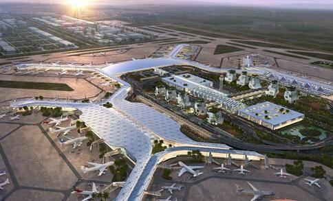 海口美兰国际机场-出发大厅巨屏LED(一个月)